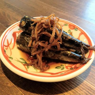 イワシの黒酢煮